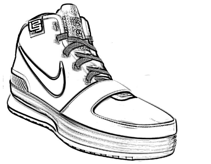 how to draw a simple shoe how to draw sneakers drawingforallnet how shoe a simple draw to