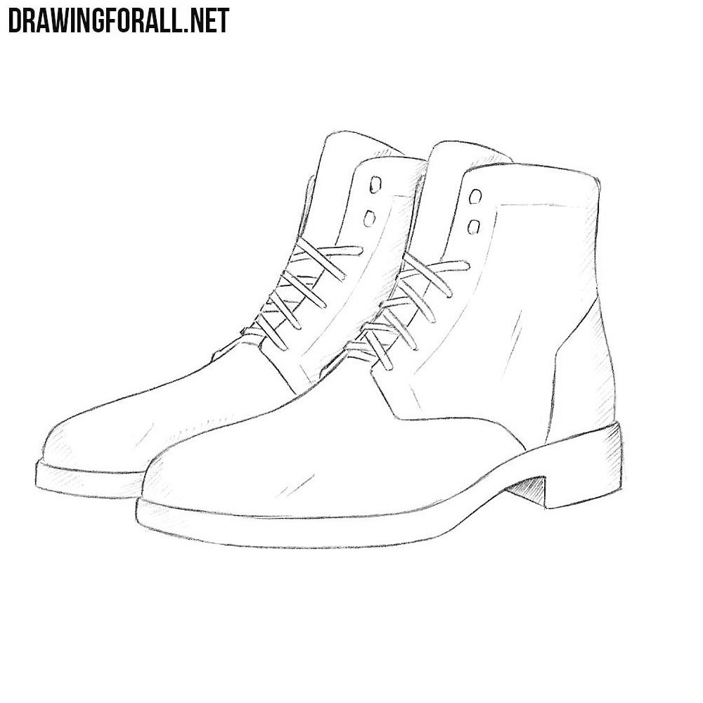 how to draw a simple shoe shoes design drawing at getdrawings free download shoe draw to simple a how