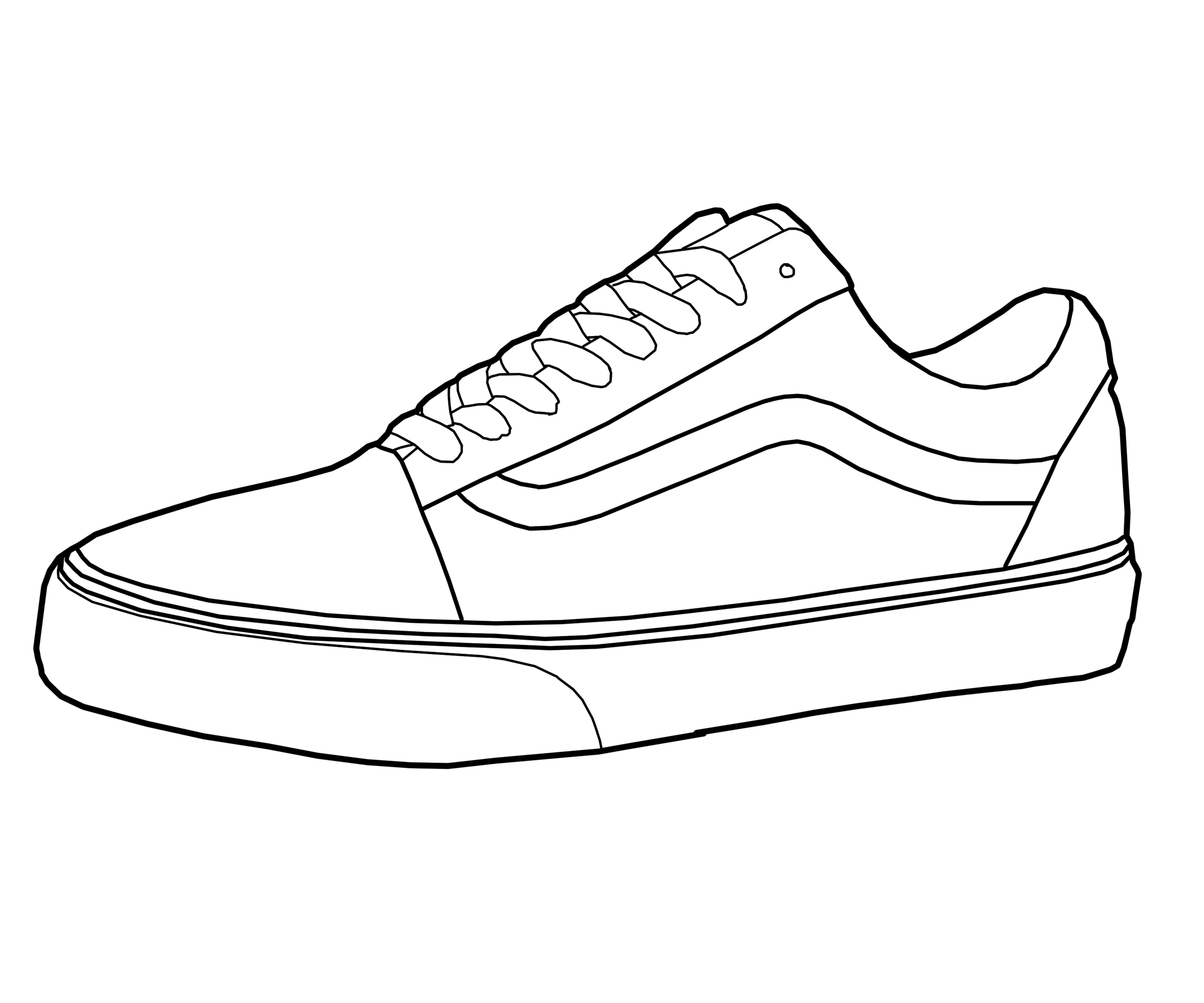 how to draw a simple shoe simple shoe drawing at getdrawings free download a how draw shoe to simple