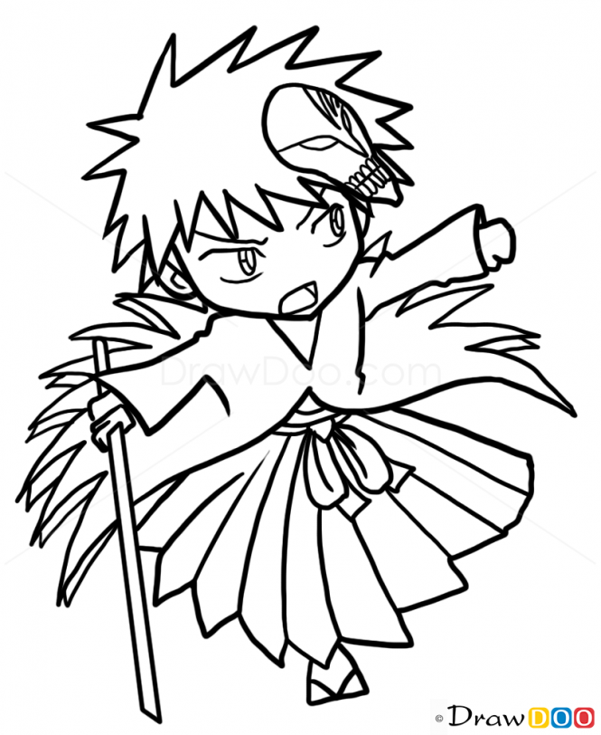 how to draw ichigo ichigo kurosaki by gatebreaker on deviantart ichigo draw to how