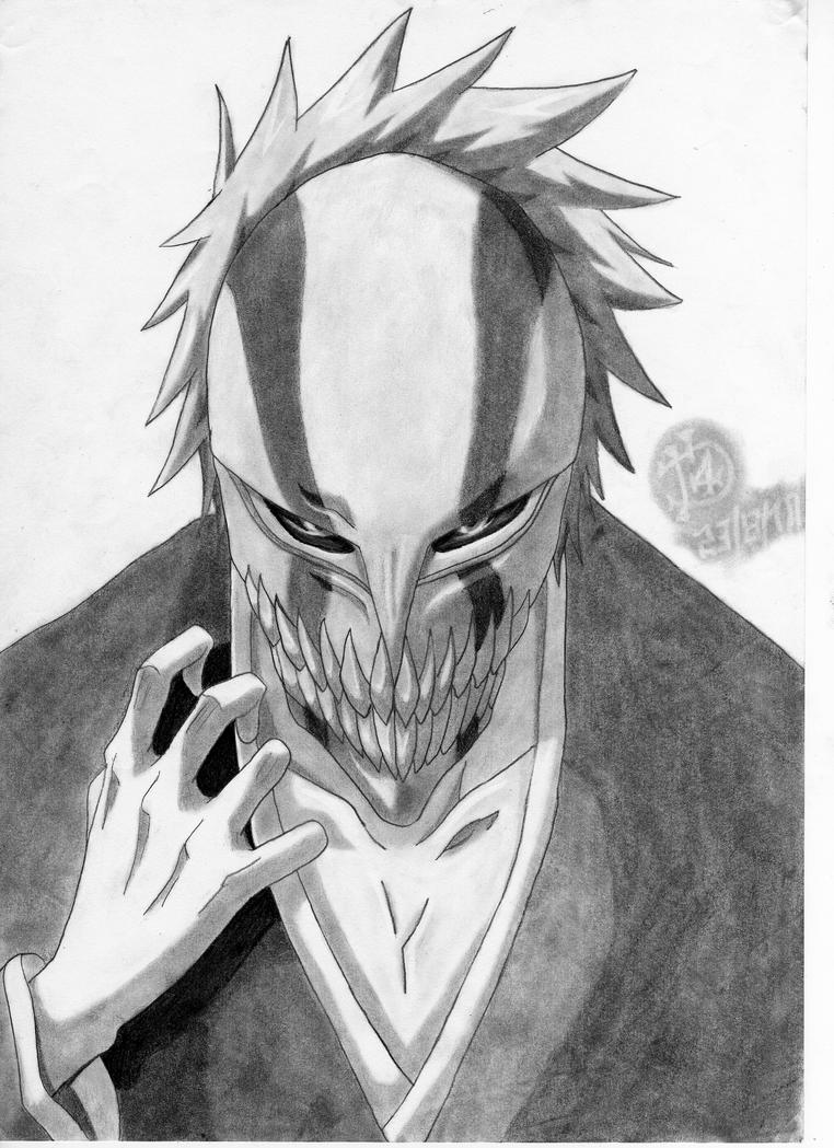 how to draw ichigo ichigo39s hollow mask by theenvisionartist on deviantart draw how to ichigo