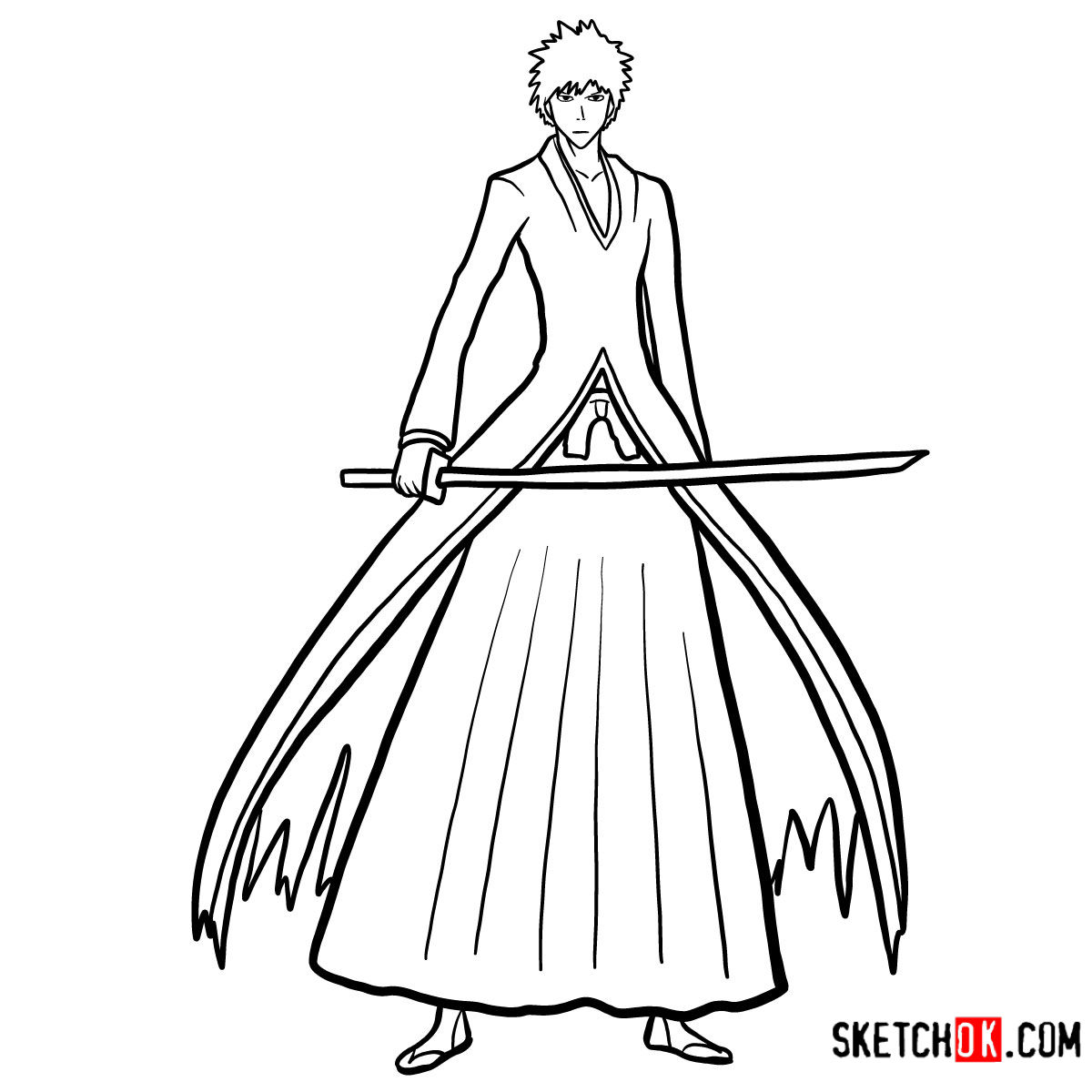 how to draw ichigo lineart fanart ichigo by sora dciel on deviantart how to ichigo draw