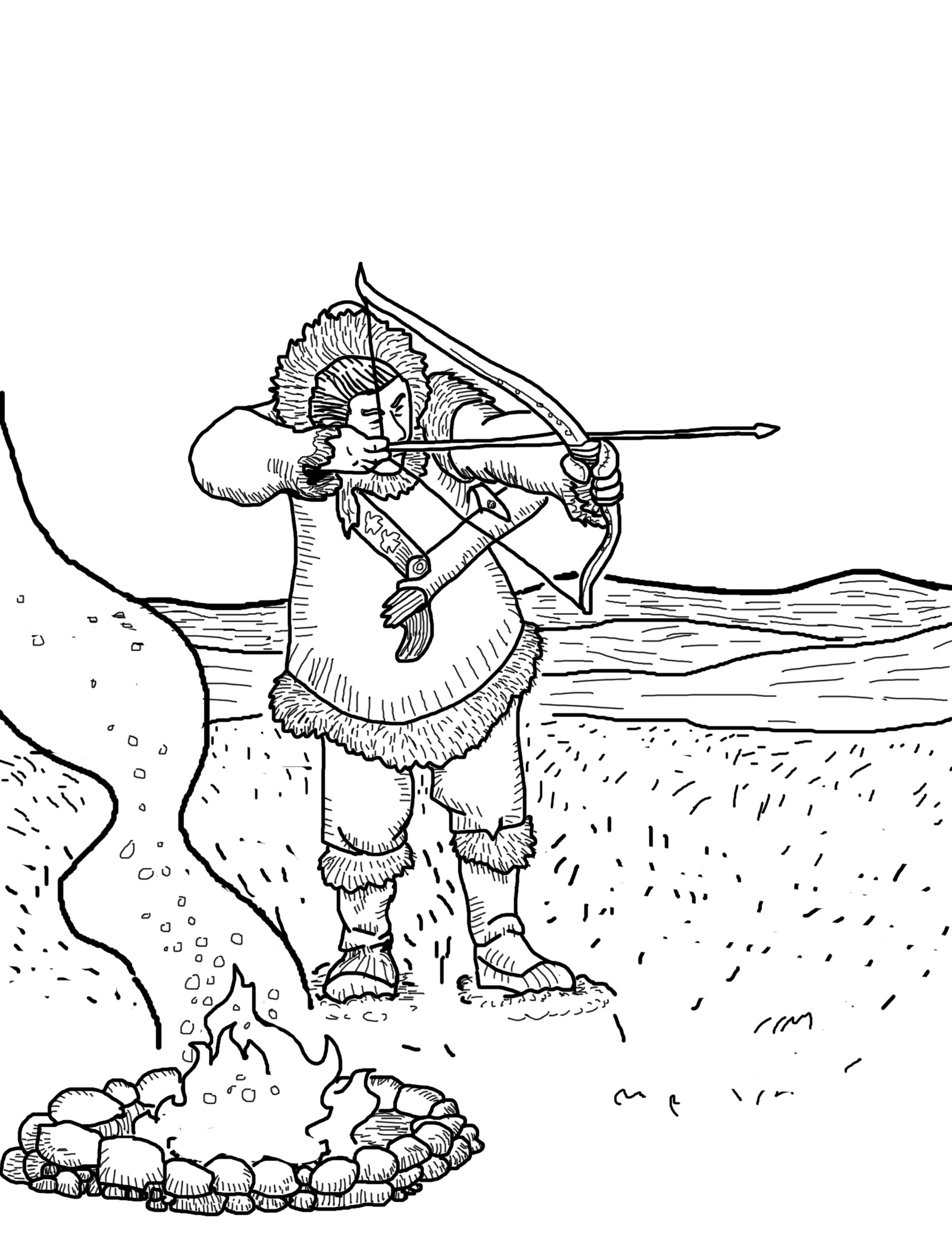 hunting coloring pages free printable hunting coloring pages for kids coloring hunting pages