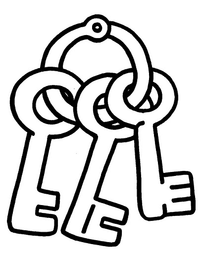 key coloring page printable picture of key clipart best key page coloring