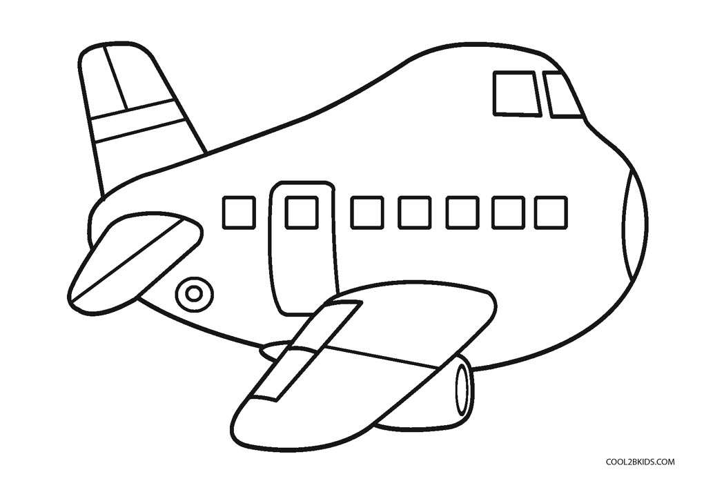 kids airplane pictures funny airplane transportation coloring pages for kids airplane kids pictures