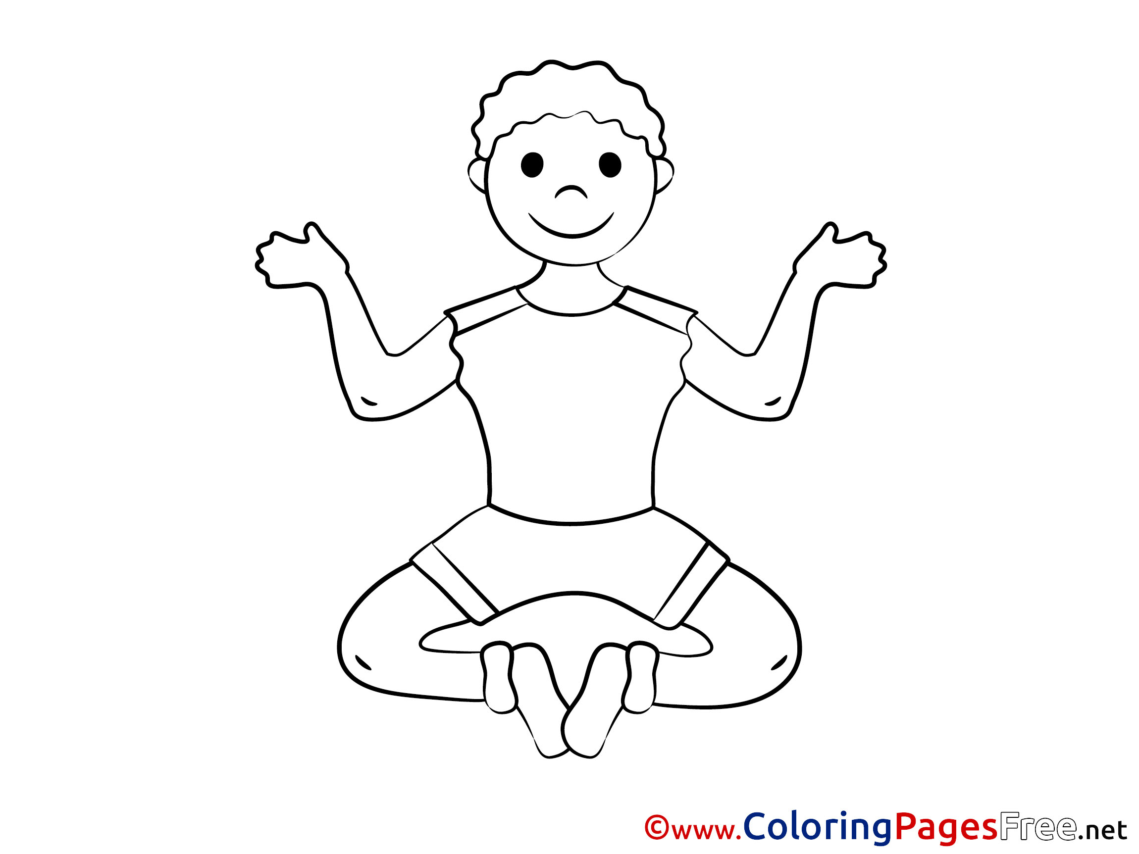 kids yoga coloring yoga children download colouring page coloring yoga kids