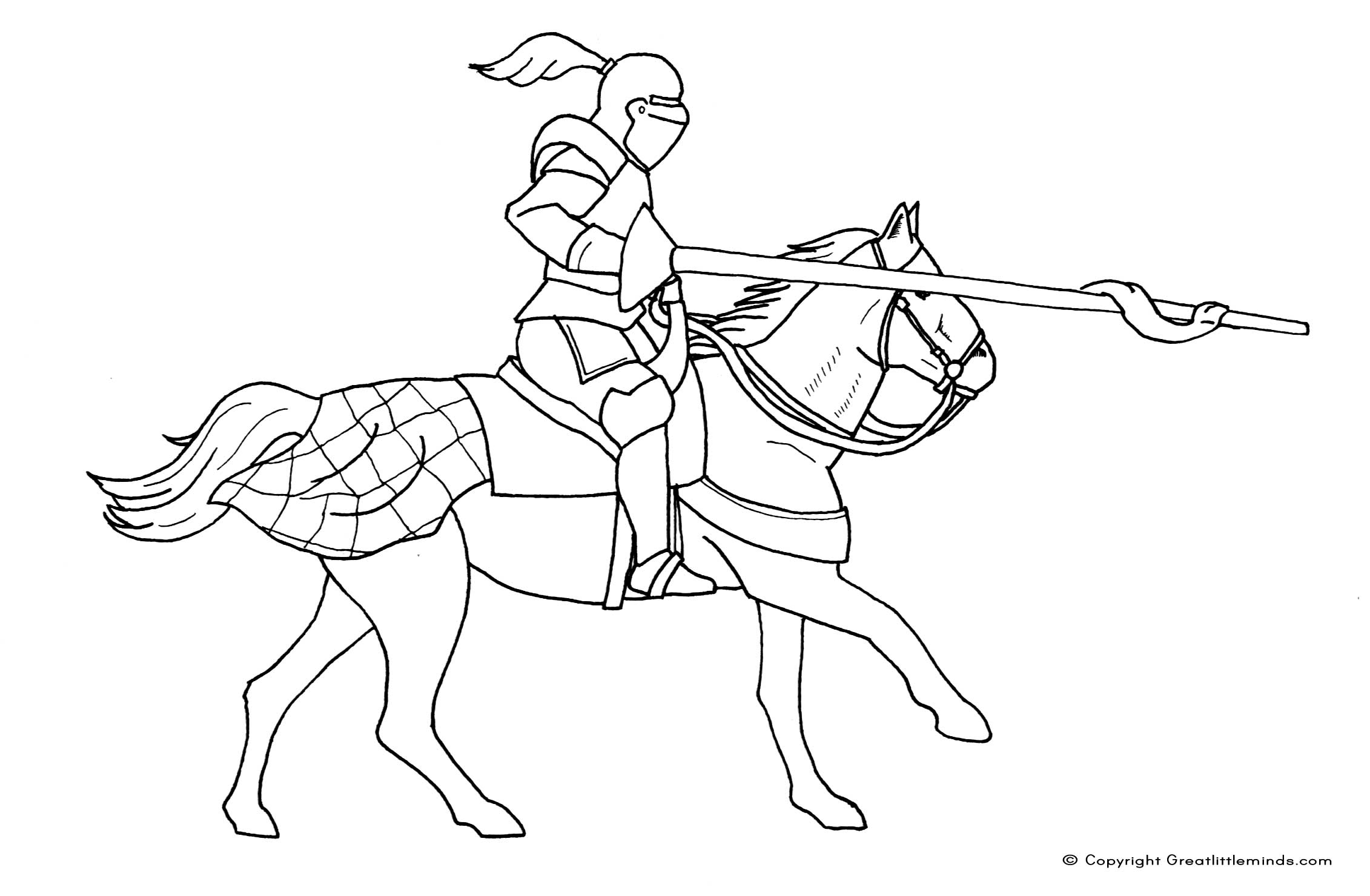 knight on a horse drawing armor clipart etc on horse knight drawing a