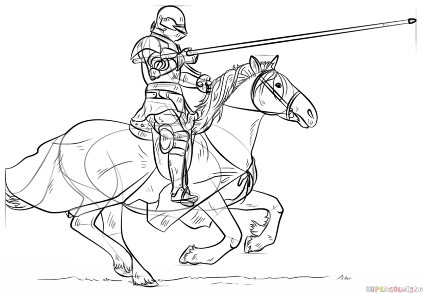 knight on a horse drawing horse and knight drawing by scarlett royal a horse drawing knight on