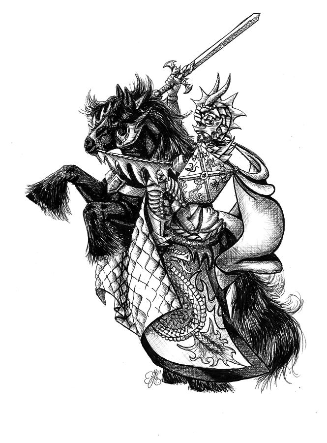 knight on a horse drawing persian warrior knight by stazjohnson on deviantart knight on drawing horse a