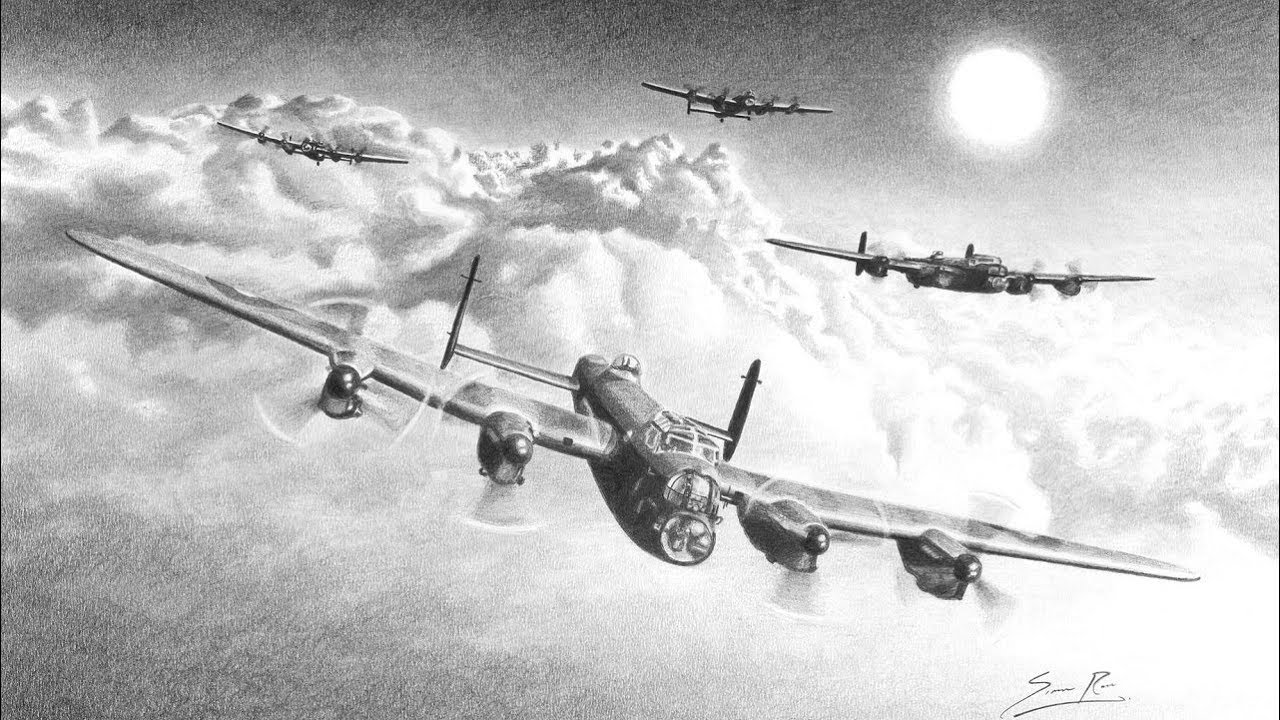 lancaster bomber drawing gatepost pictures remembrance bomber drawing lancaster