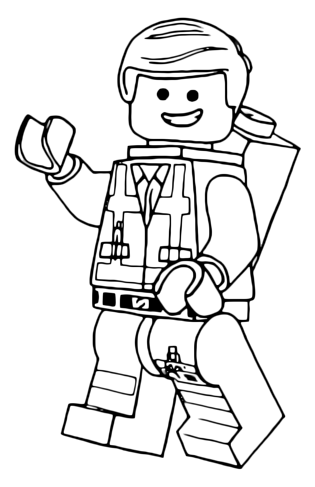 lego emmet coloring page lego movie coloring pages best coloring pages for kids lego page emmet coloring