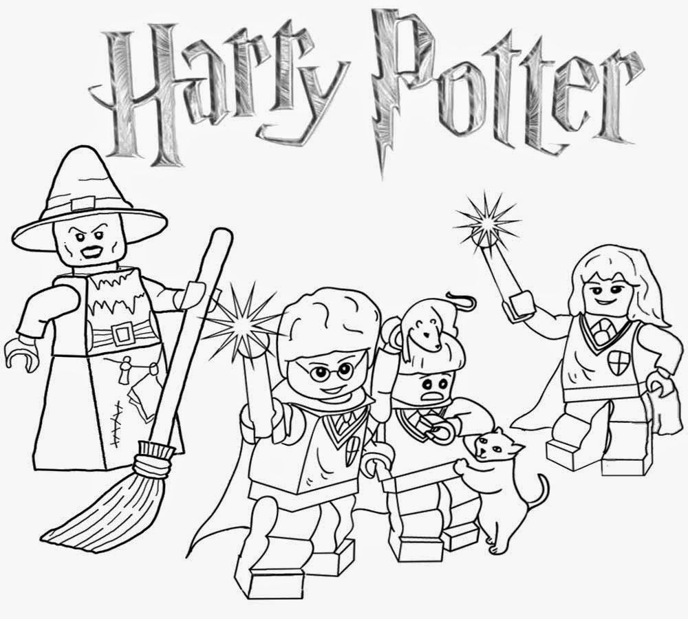lego harry potter coloring pages printable lego city coloring pages for kids clipart harry pages potter lego coloring