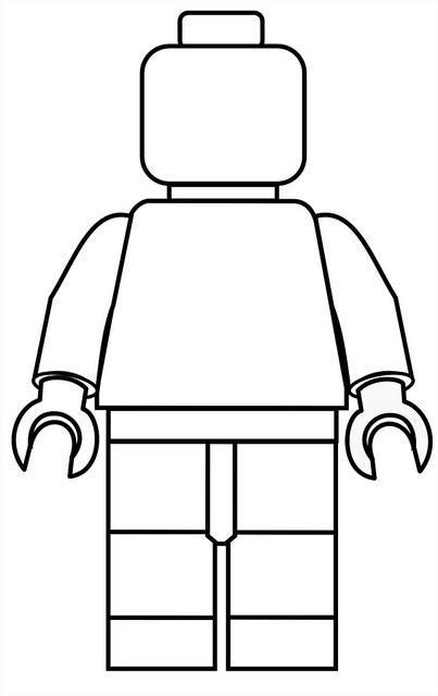 lego man coloring page color a lego man happily uprooted lego coloring man page