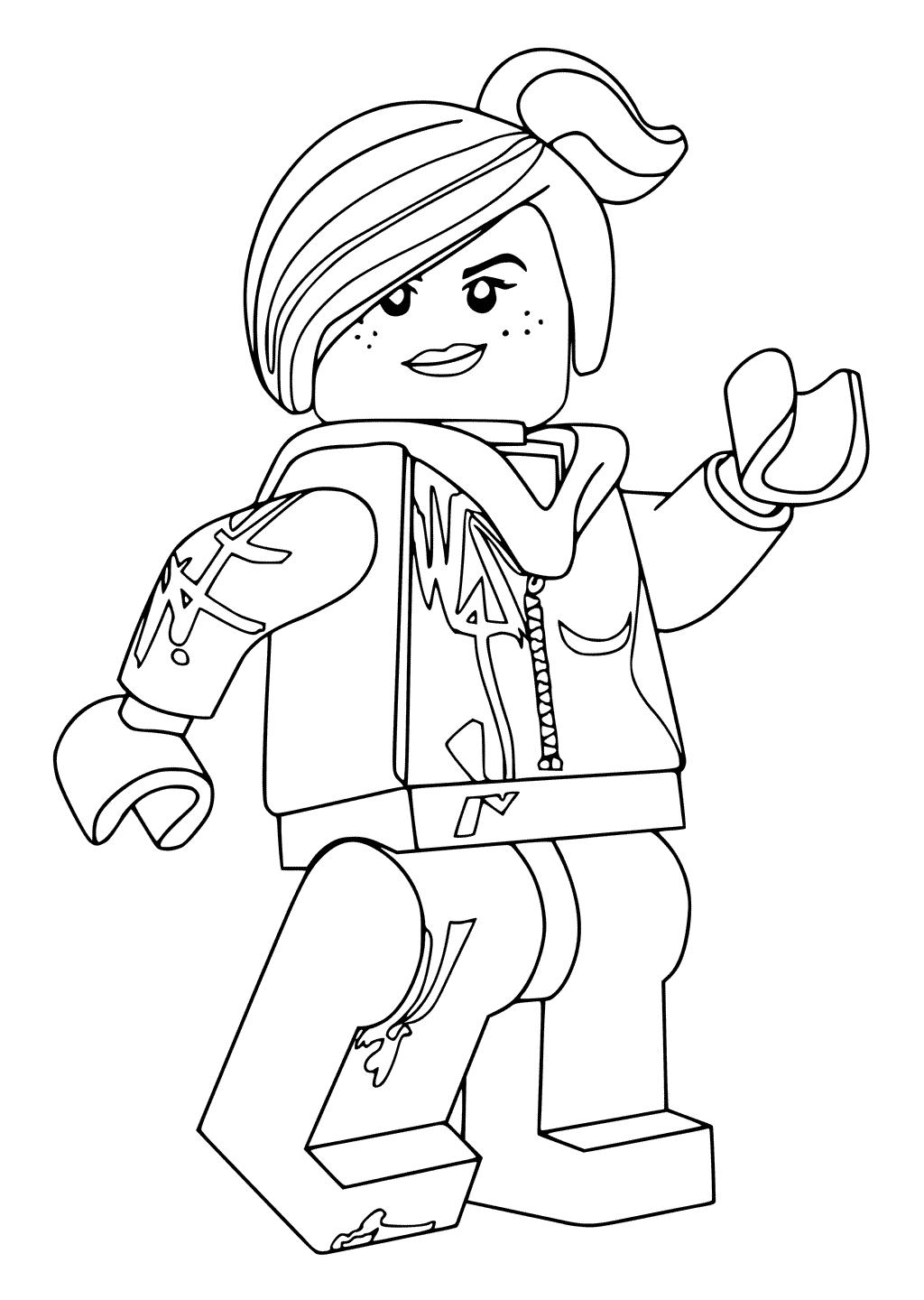 lego movie coloring page quotthe lego moviequot coloring pages lego page movie coloring