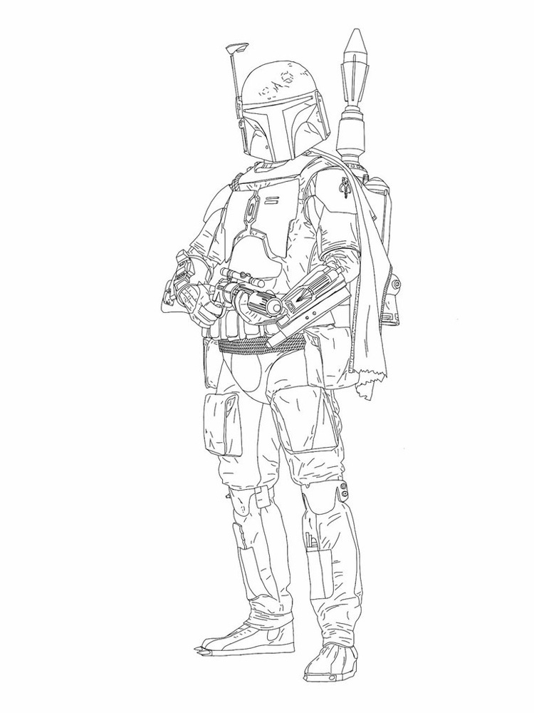 lego star wars boba fett coloring pages star wars easy drawing at getdrawings free download lego pages wars coloring fett star boba