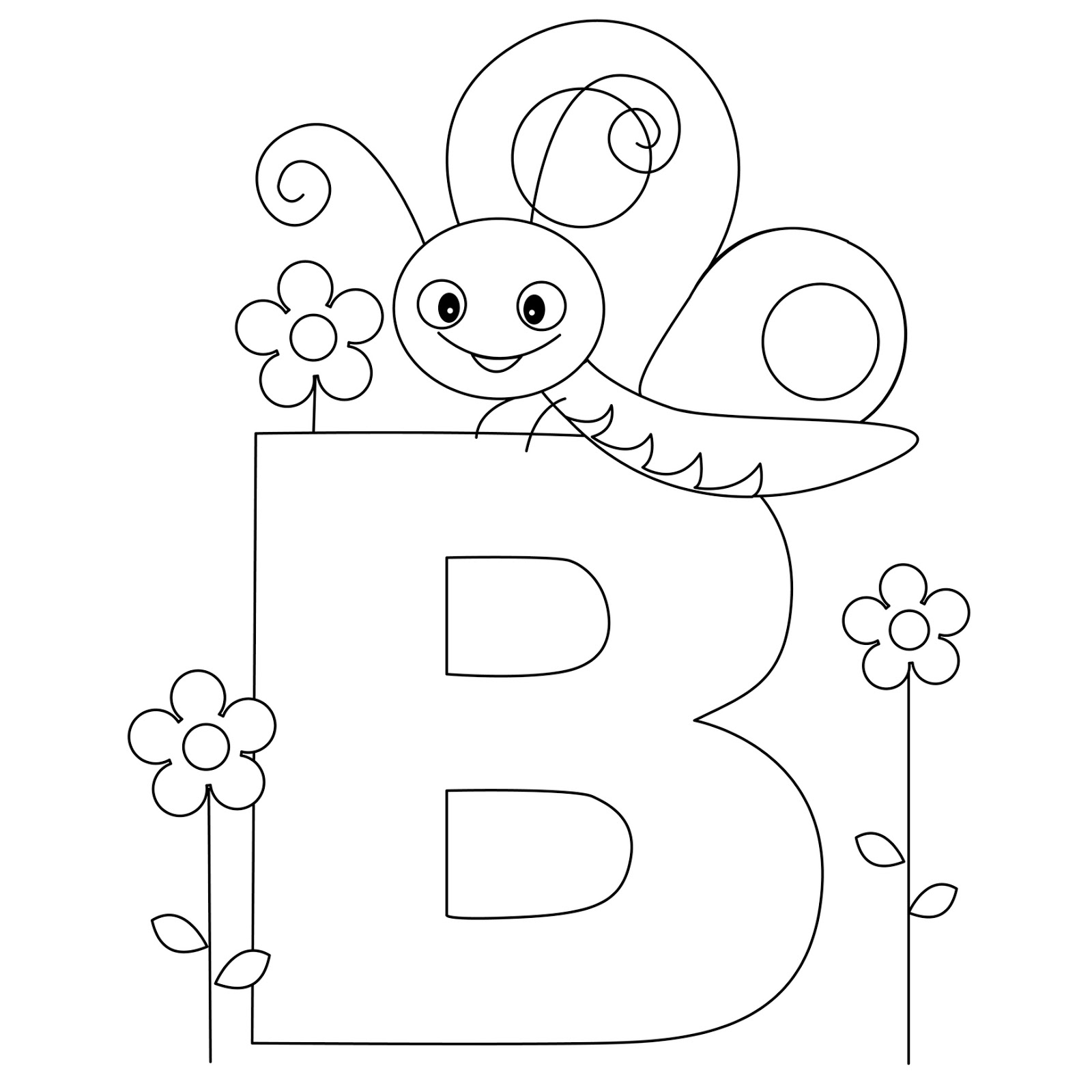 letter b coloring letter b coloring pages preschool and kindergarten b letter coloring