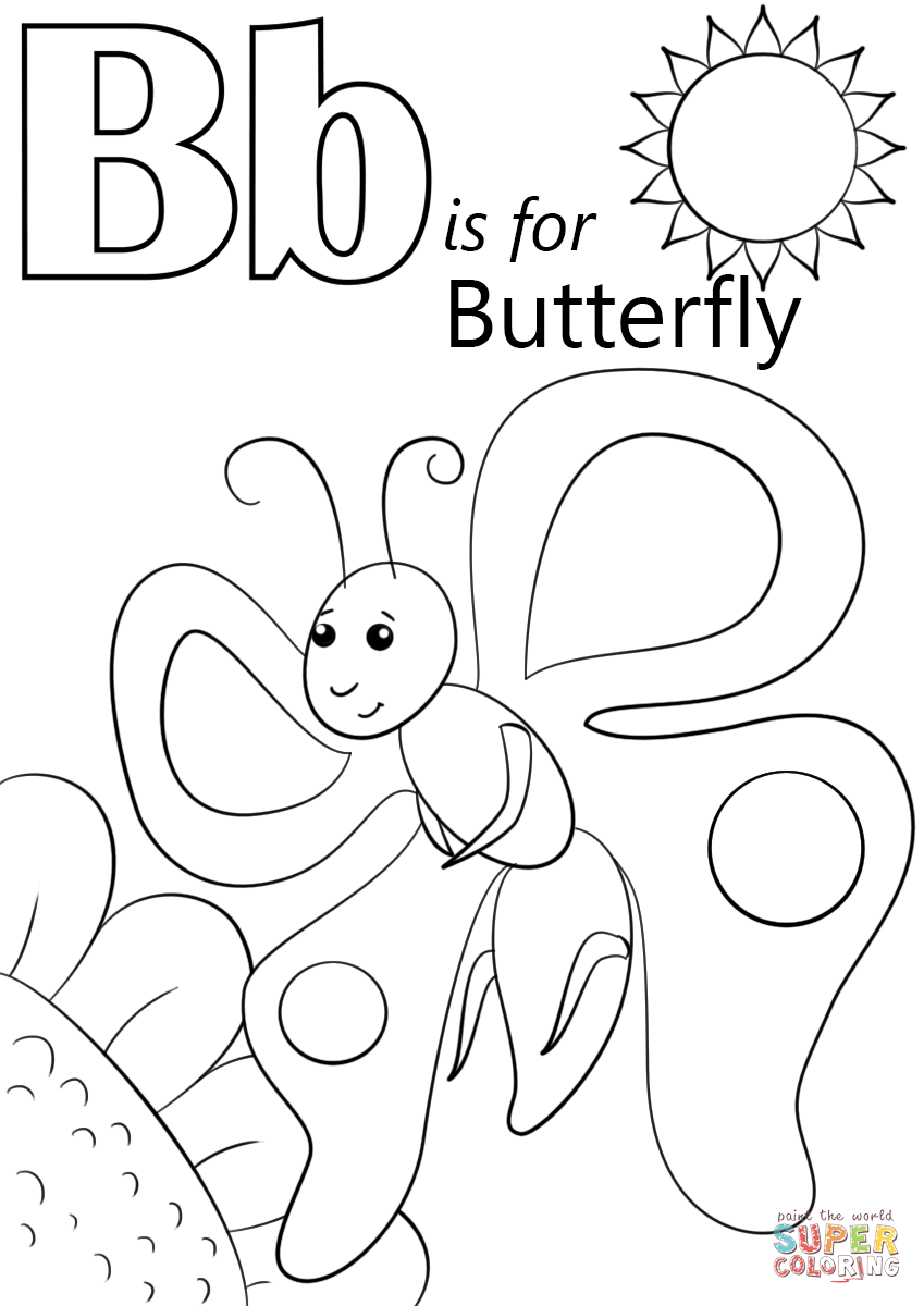 letter b coloring letter b coloring pages preschool and kindergarten letter b coloring