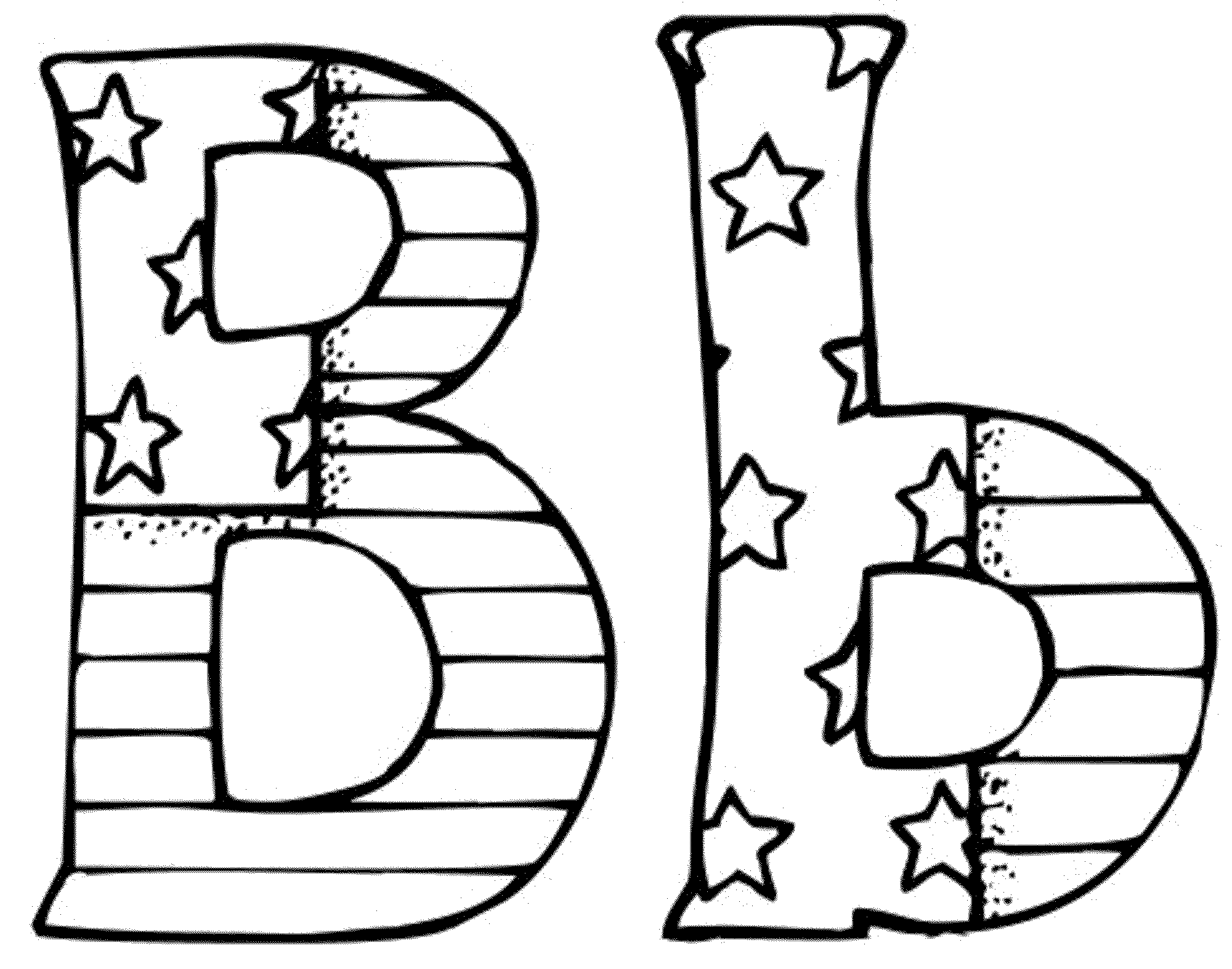 letter b coloring letter b coloring pages to download and print for free b coloring letter