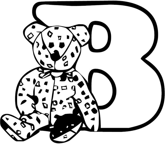 letter b coloring letter b coloring pages to download and print for free letter b coloring 1 1