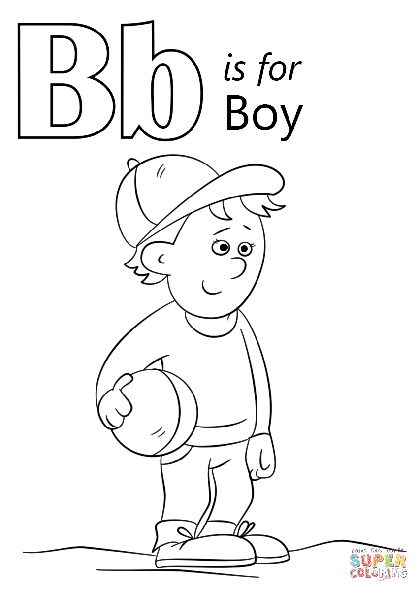 letter b coloring letter b is for ball coloring page free printable letter coloring b