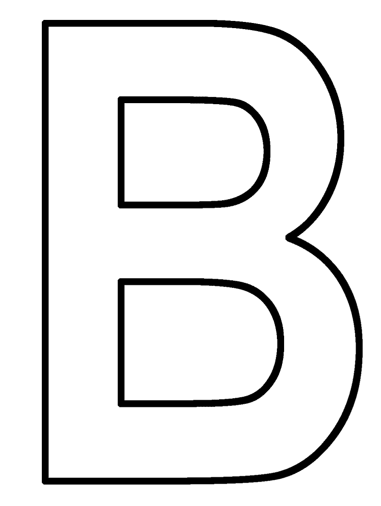 letter b coloring letter b is for bear coloring page free printable b coloring letter