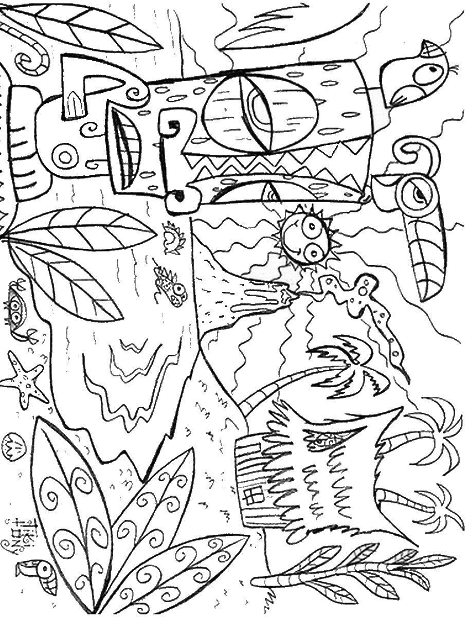 luau coloring sheets luau coloring pages birthday printable coloring sheets luau