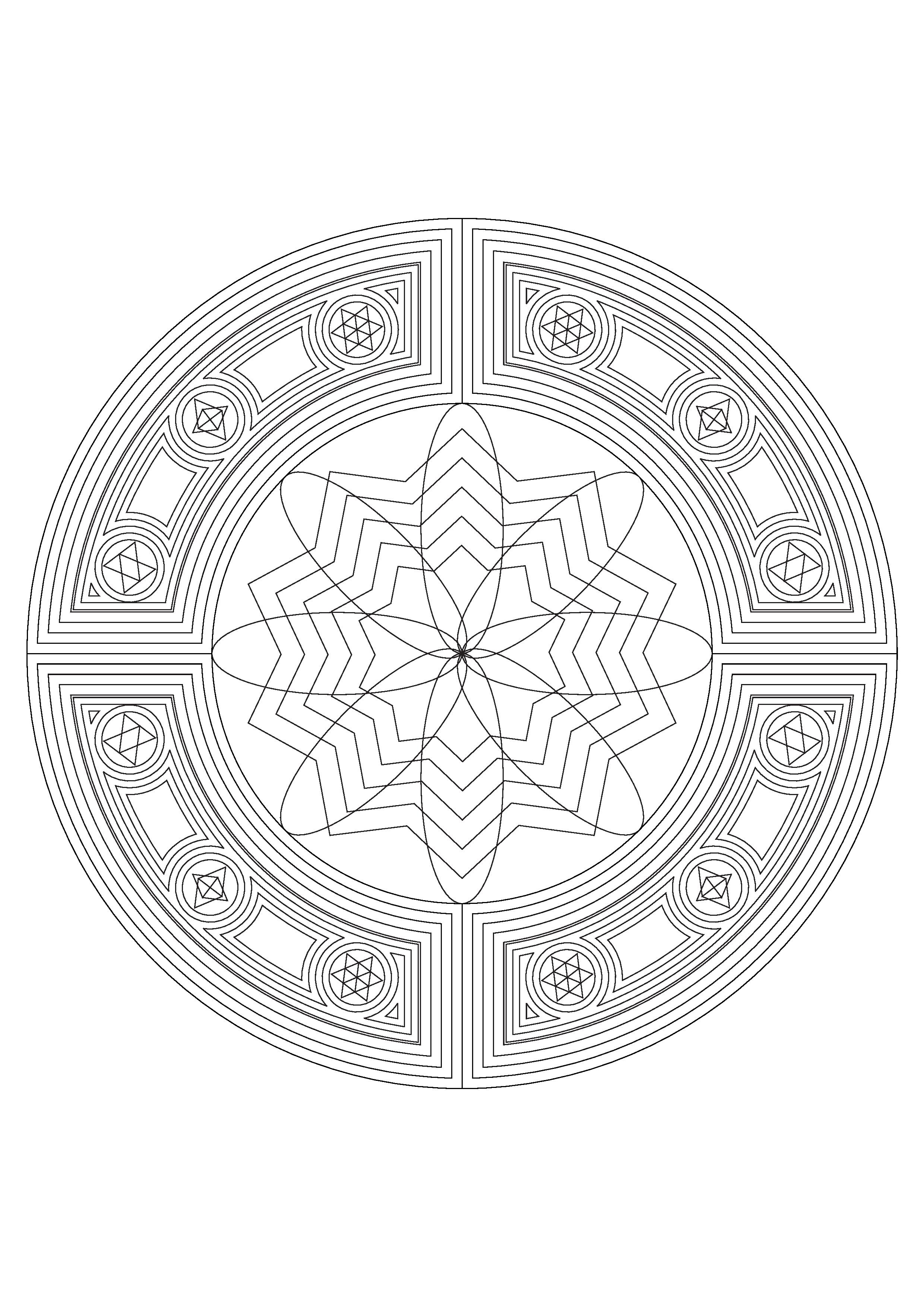 mandala coloring pages mandala mandala to download in pdf 6 mandalas adult coloring pages coloring pages mandala mandala