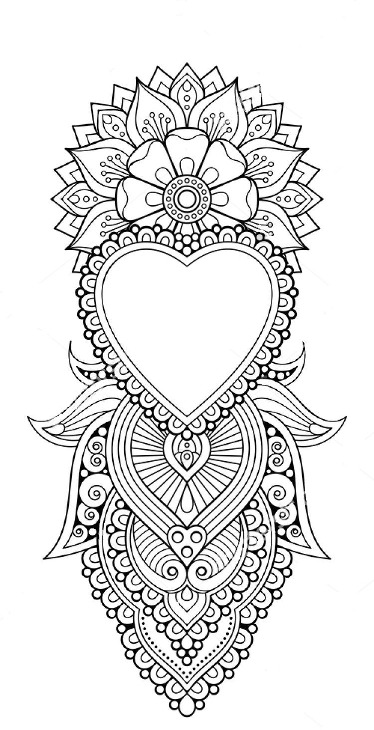 mandala tattoo coloring pages coloring for adults kleuren voor volwassenen geometric pages mandala tattoo coloring