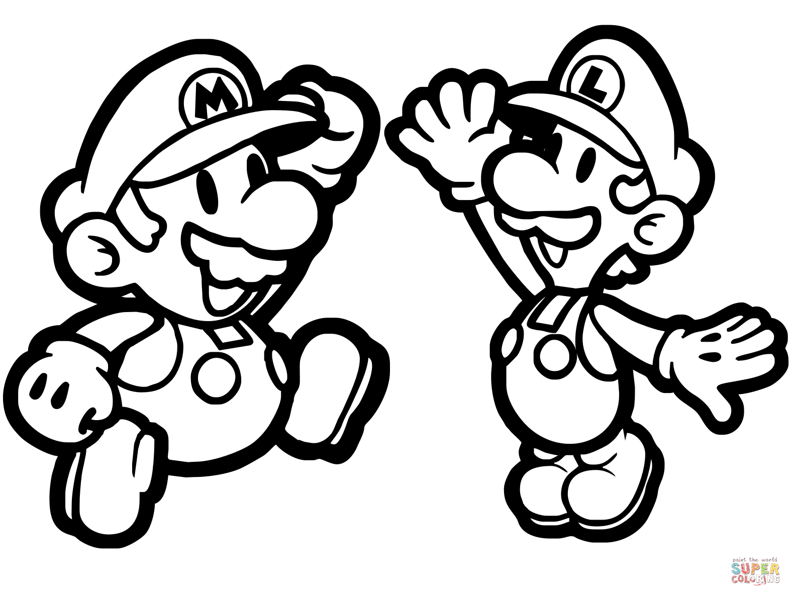mario and luigi printable coloring pages printable luigi coloring pages for kids cool2bkids printable luigi mario coloring pages and