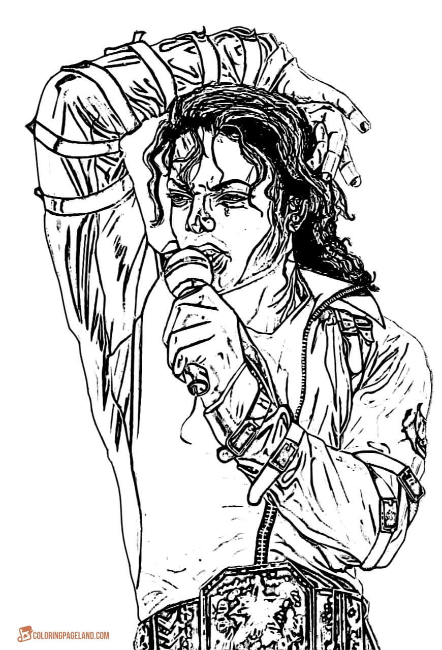 michael jackson coloring pages to print printable michael jackson coloring pages coloring home to pages print michael jackson coloring