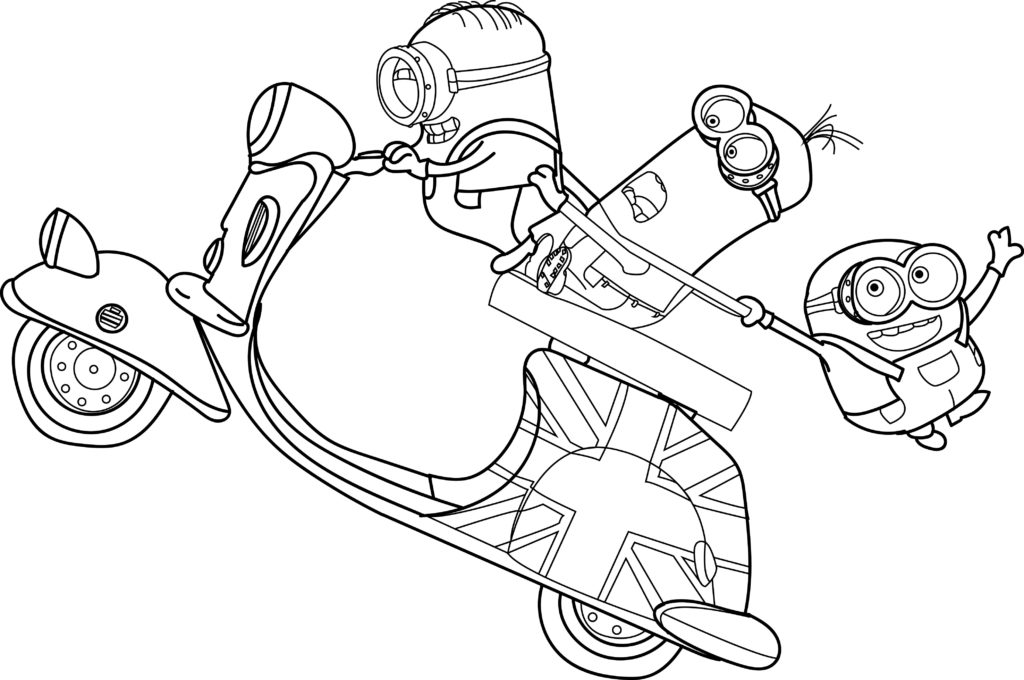 minions print bob the minion coloring pages at getcoloringscom free print minions