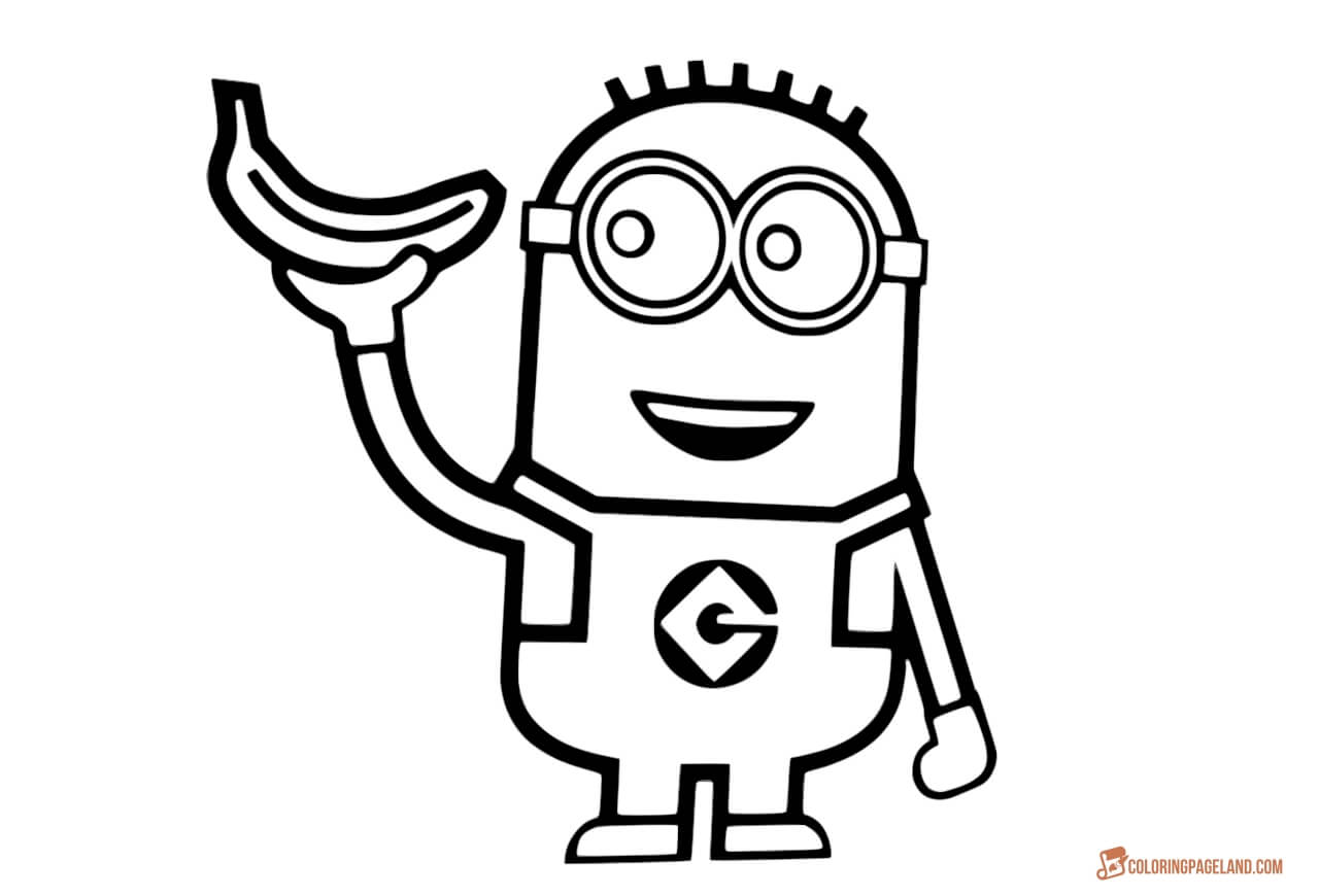 minions print free coloring pages printable pictures to color kids print minions 1 1