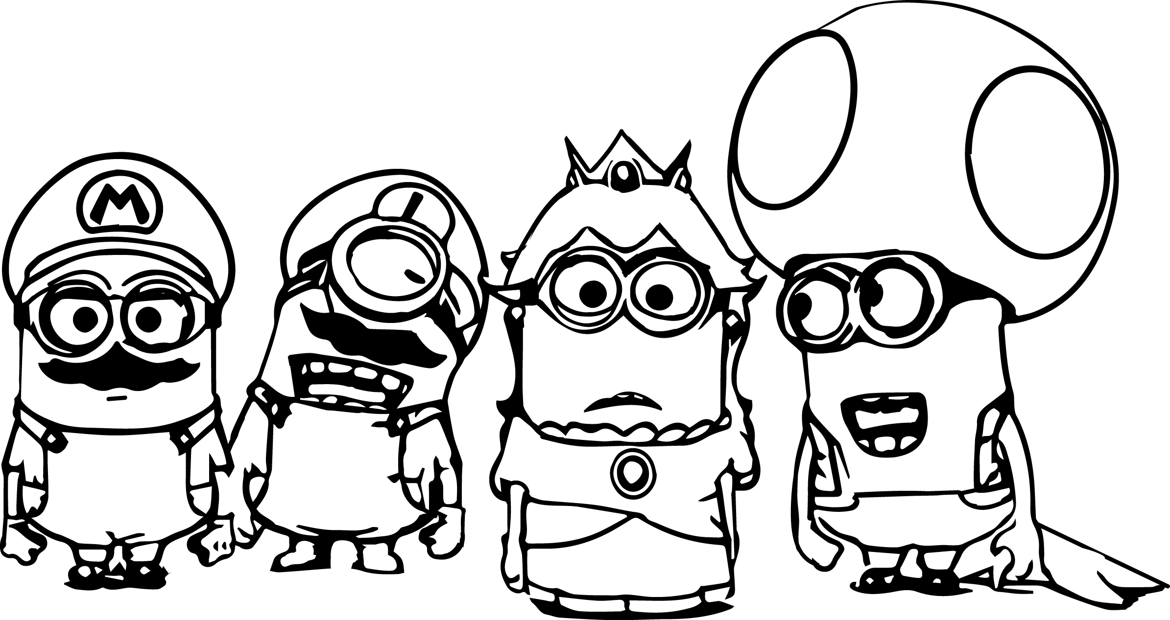 minions print minion coloring pages best coloring pages for kids minions print 1 5