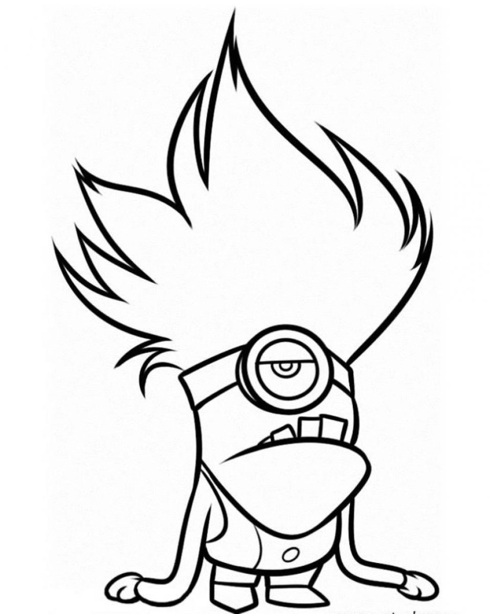 minions print minion coloring pages free download on clipartmag print minions
