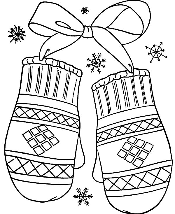 mitten coloring page mitten outline free download on clipartmag coloring page mitten