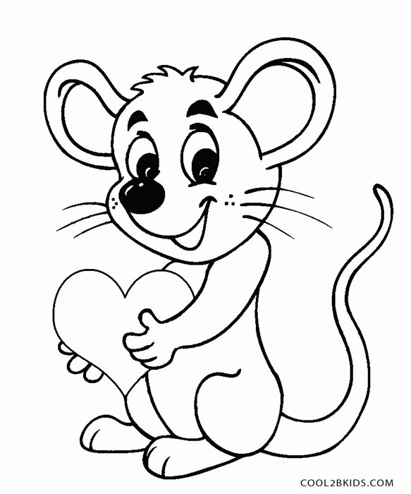 mouse coloring printable mouse coloring pages for kids cool2bkids mouse coloring