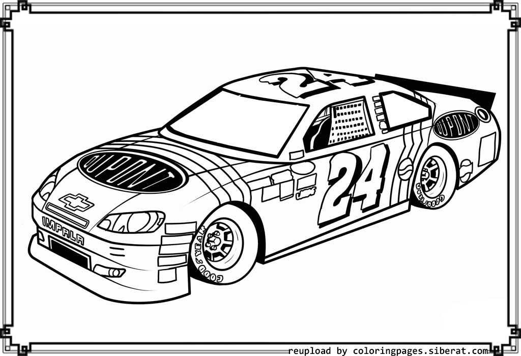 nascar coloring page nascar coloring pages to download and print for free page nascar coloring