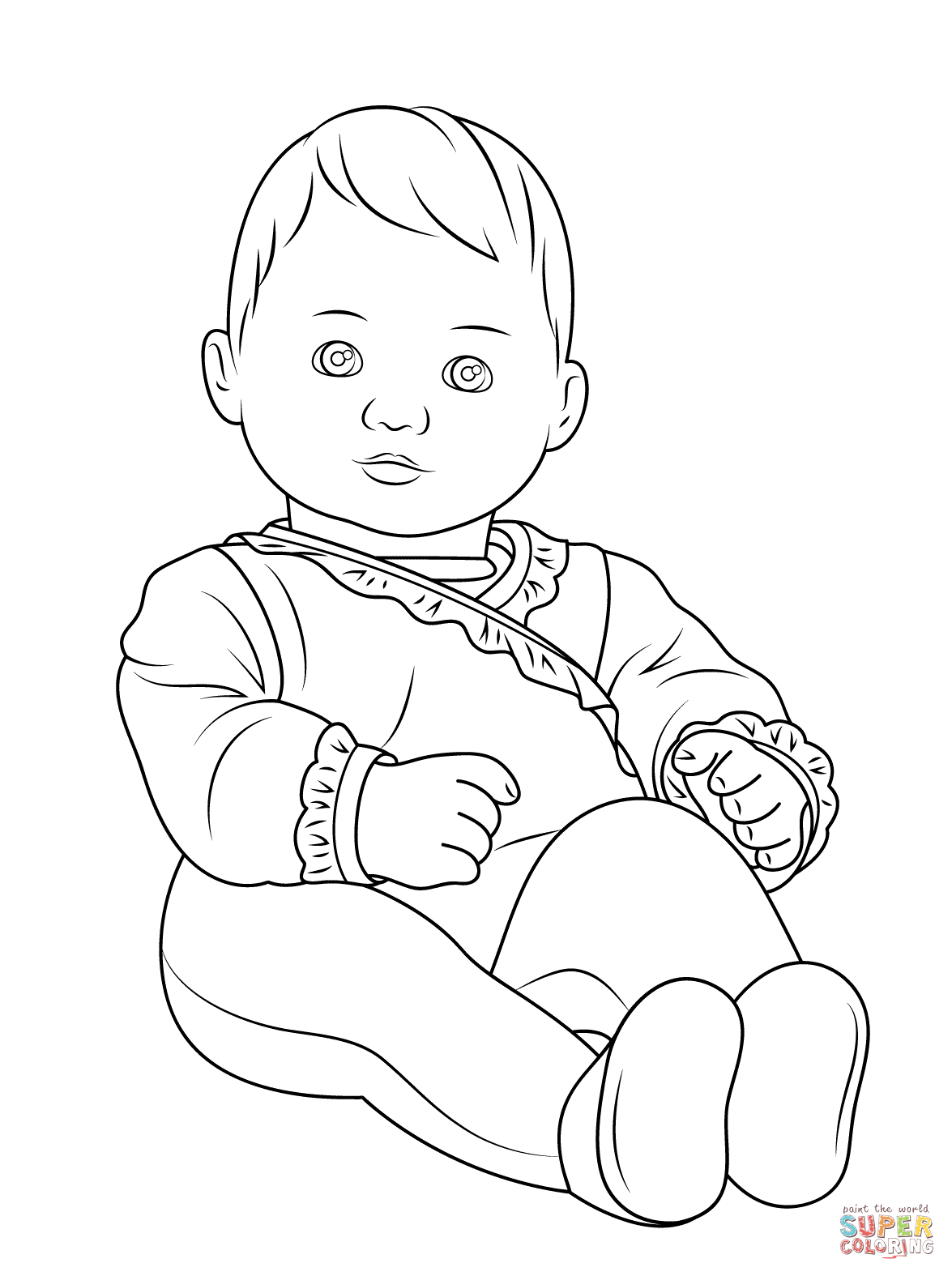 newborn baby coloring pages free printable baby coloring pages for kids newborn coloring pages baby
