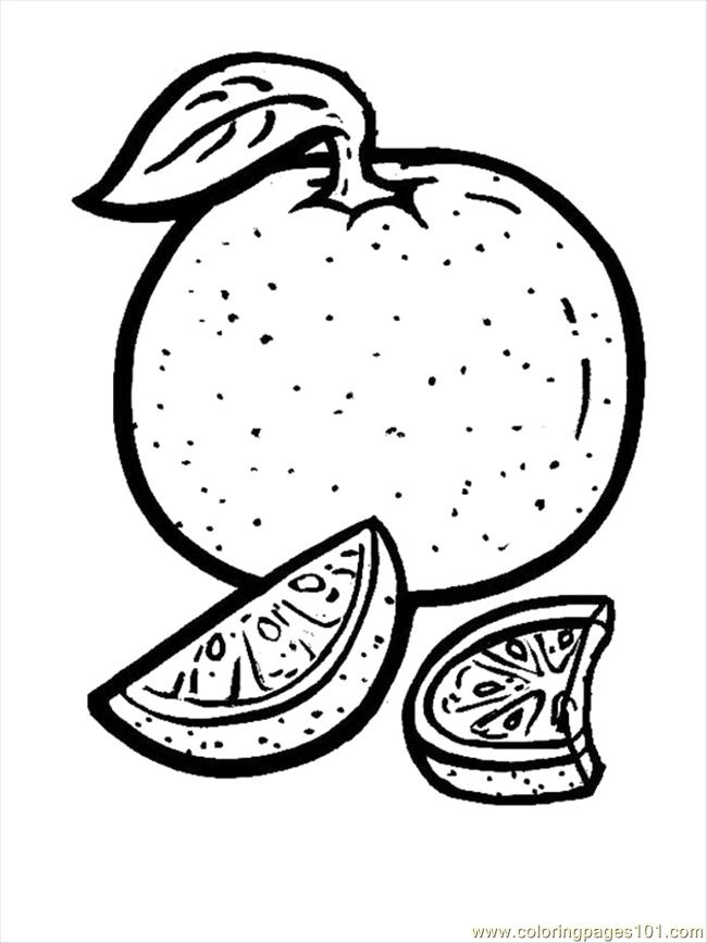 orange colouring picture fruits coloring pages free coloring pages printable for orange colouring picture