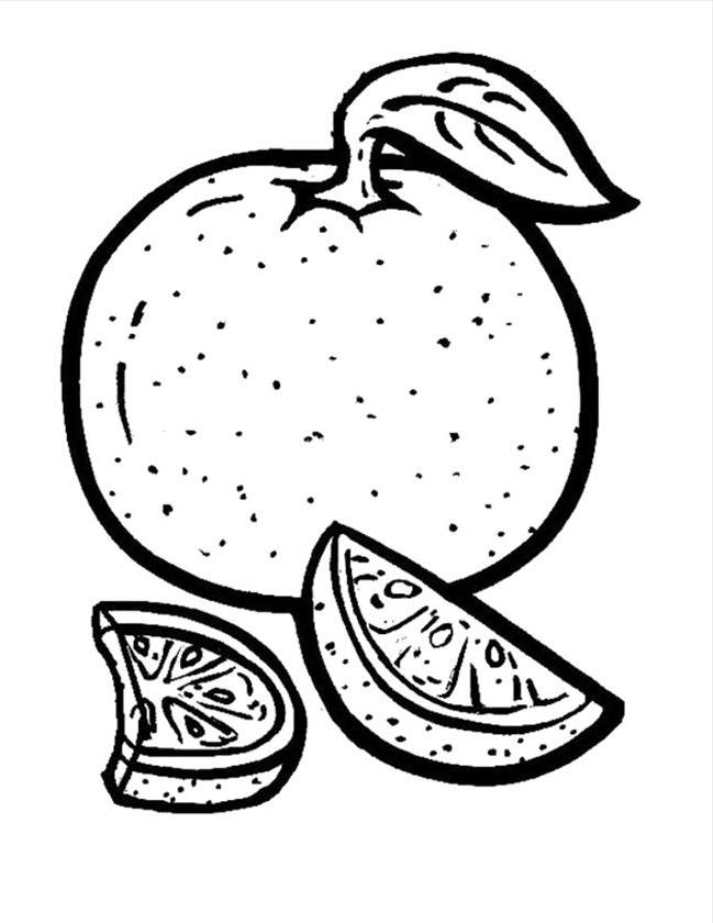 orange colouring picture orange coloring pages for toddlers 18 image coloringsnet picture orange colouring