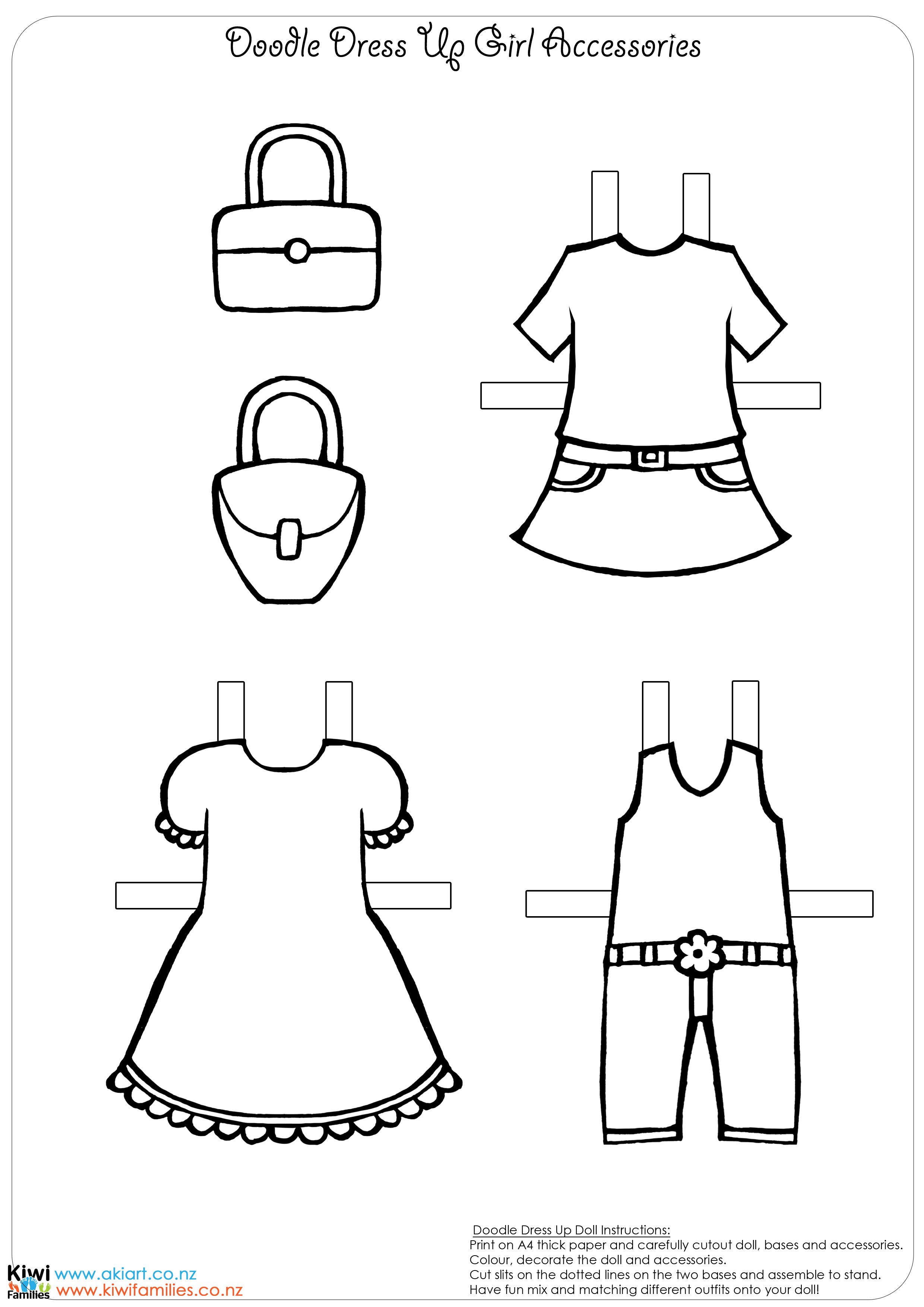 paper doll dress up make your own paper dolls kiwi families dress up doll paper