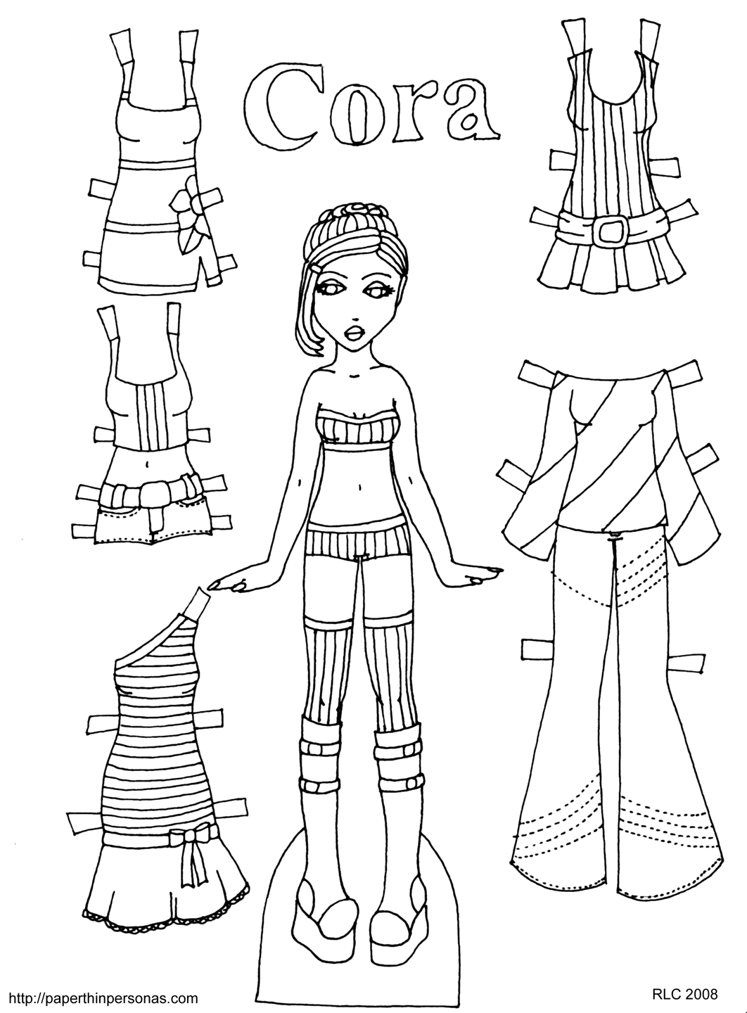 paper dolls template paper doll template best coloring pages for kids dolls template paper