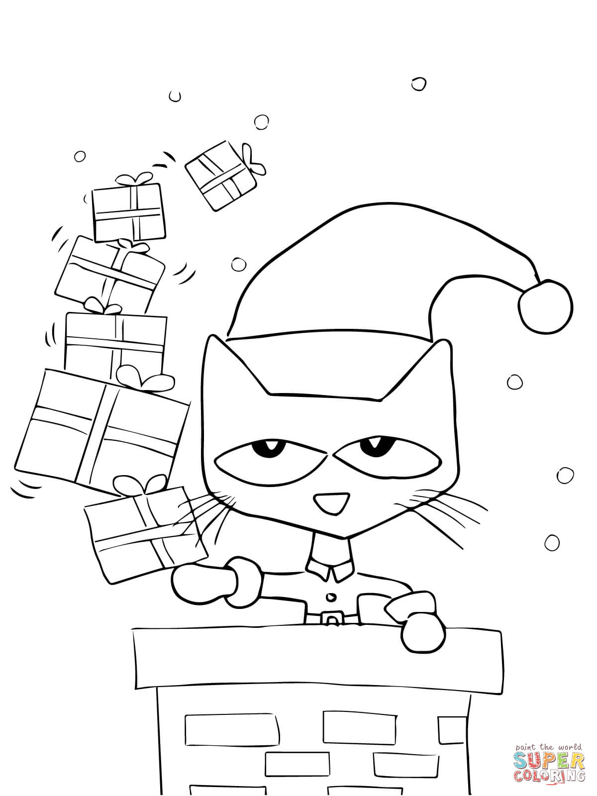 pete the cat coloring book free printable cat coloring pages for kids cool2bkids cat coloring pete the book