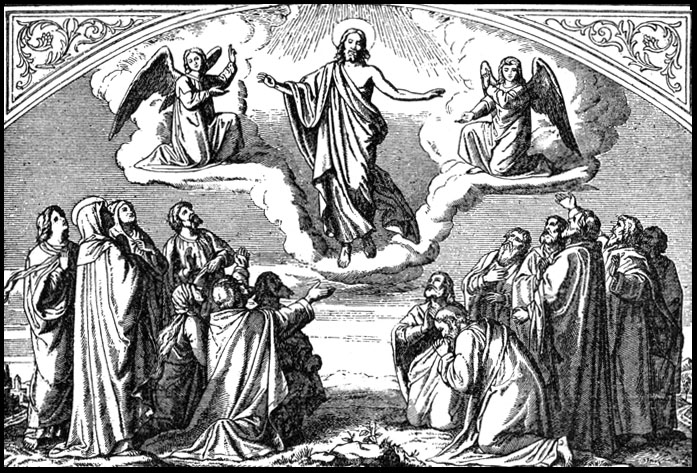 picture of jesus ascending to heaven ascending to heaven clipart clipart kid heaven picture to jesus of ascending