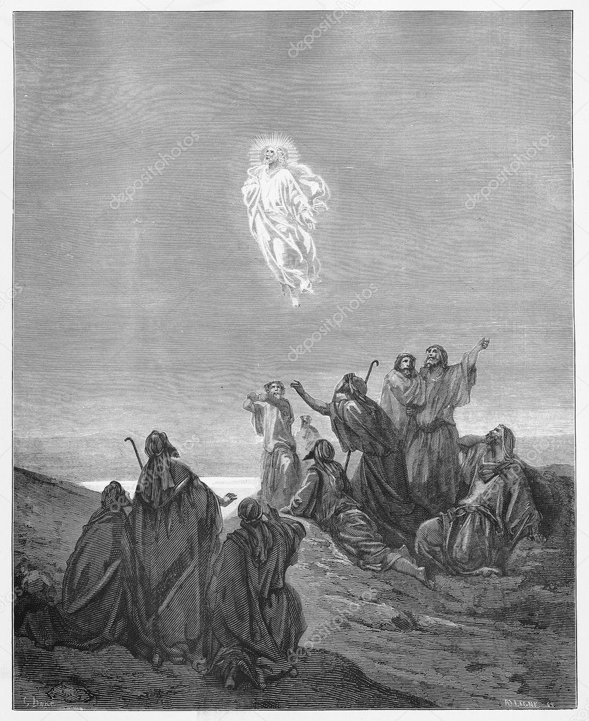 picture of jesus ascending to heaven jesus ascension stock photos images pictures jesus ascending to picture heaven of