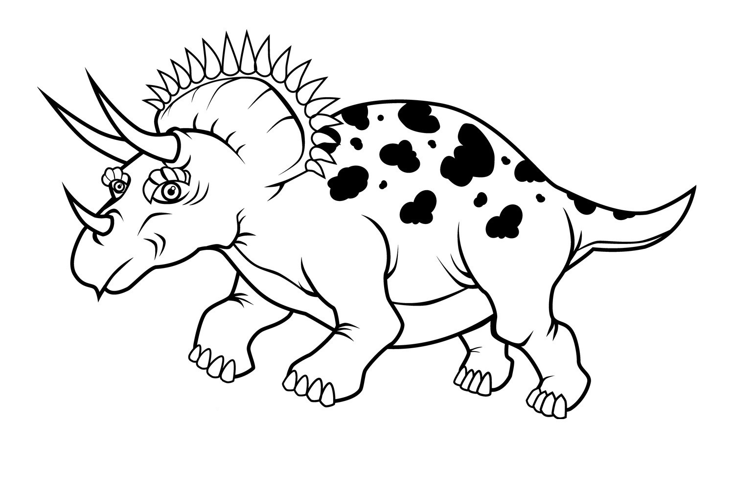 pictures of dinosaurs to print t rex dinosaur coloring pages at getcoloringscom free dinosaurs pictures of print to