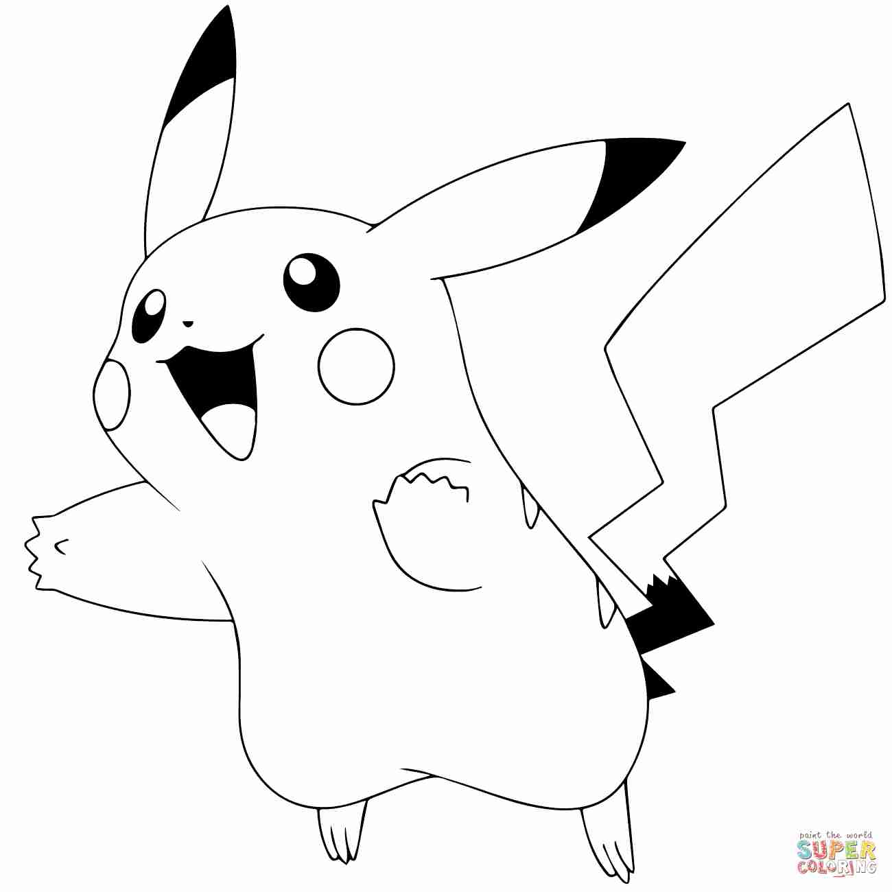 pikachu cute pokemon coloring pages colormon look at how cute pikachu is all dressed up for pokemon pages pikachu coloring cute