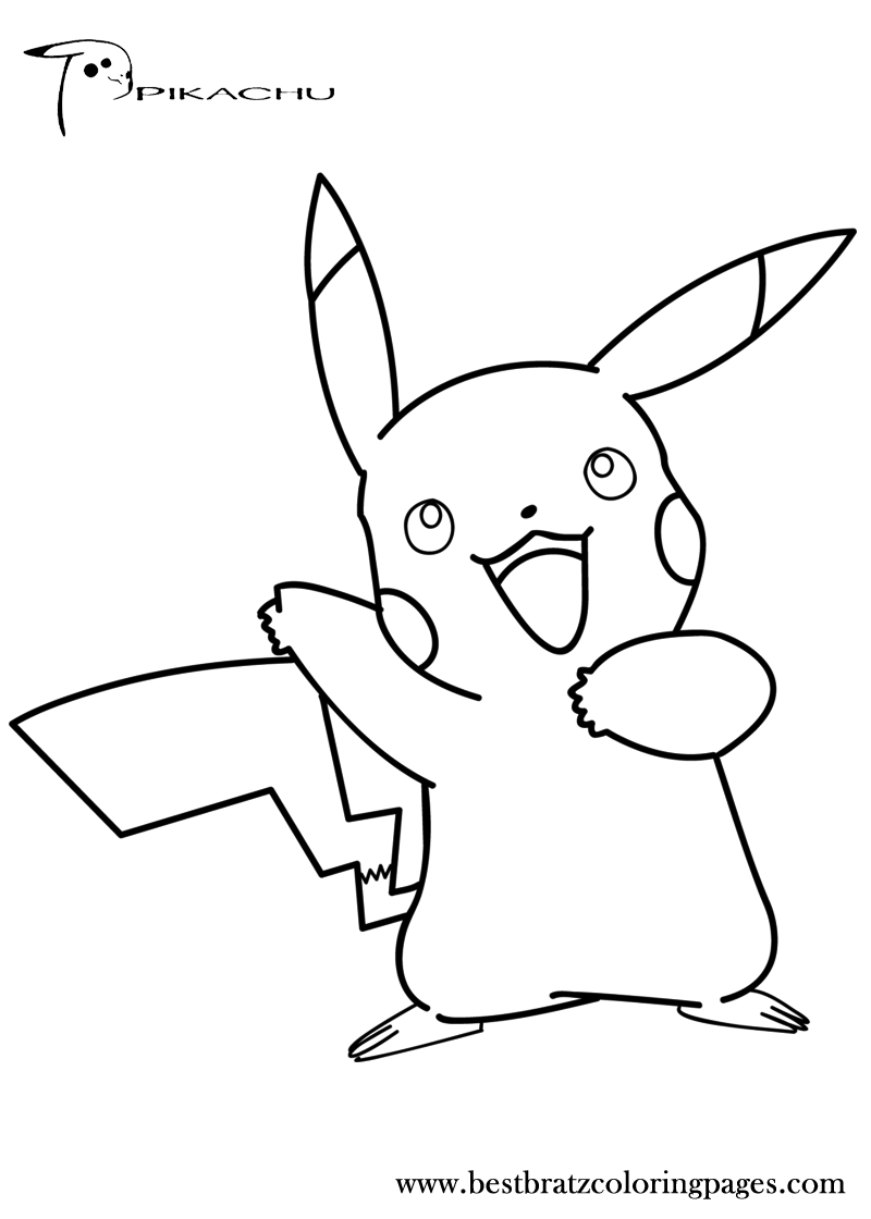 pikachu cute pokemon coloring pages cute pikachu coloring pages at getcoloringscom free coloring pikachu pages pokemon cute