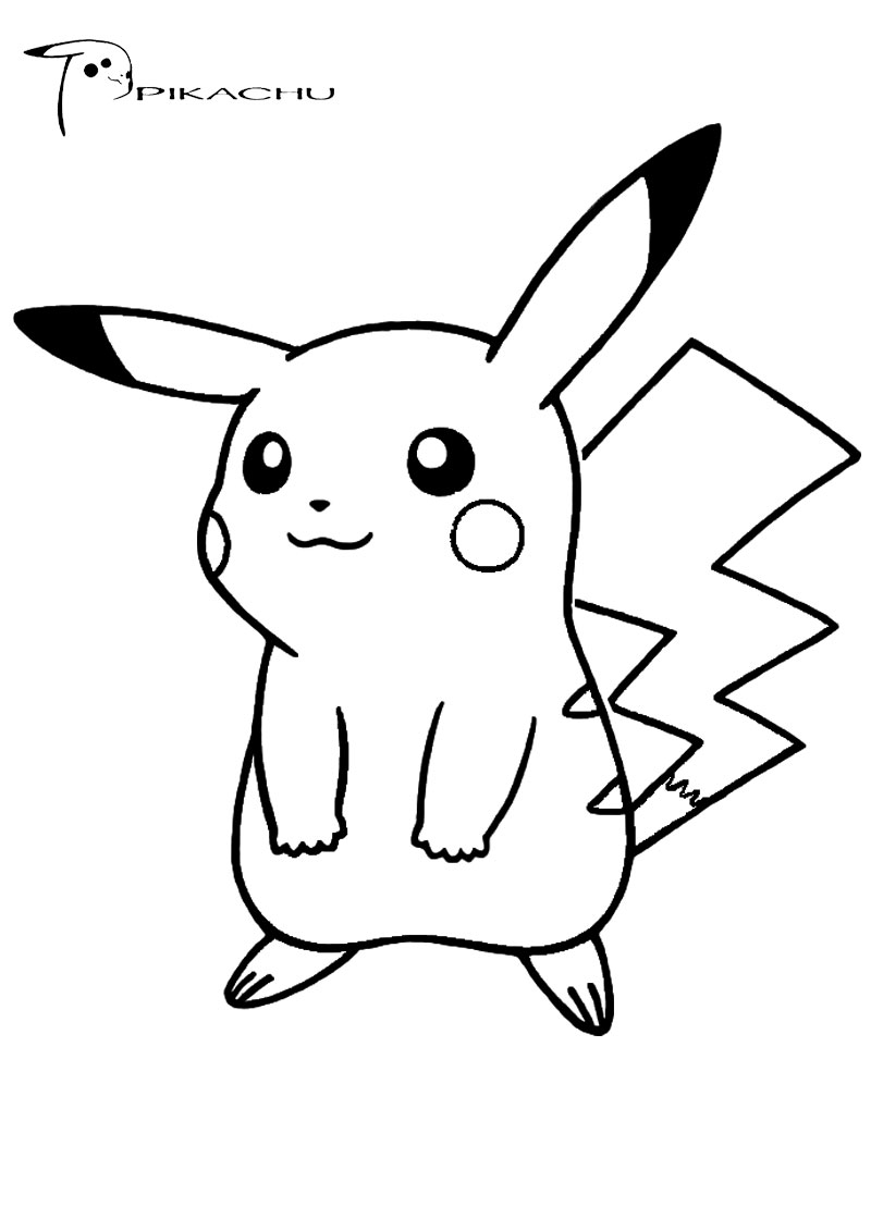pikachu cute pokemon coloring pages cute pikachu coloring pages at getcoloringscom free pikachu pages pokemon cute coloring