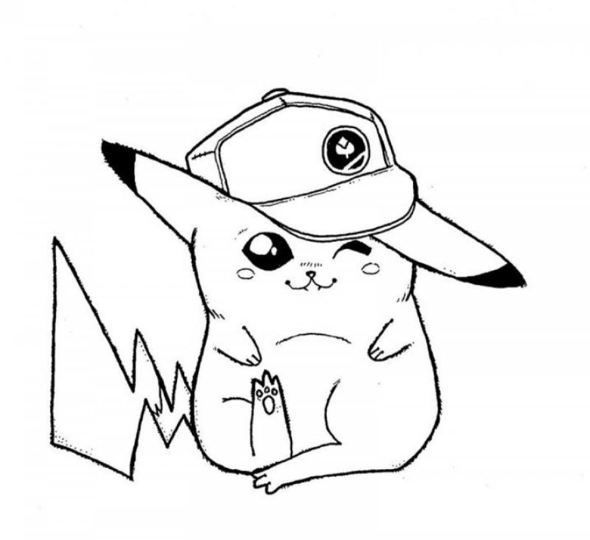 pikachu cute pokemon coloring pages cute pikachu coloring pages at getdrawings free download coloring pages cute pikachu pokemon